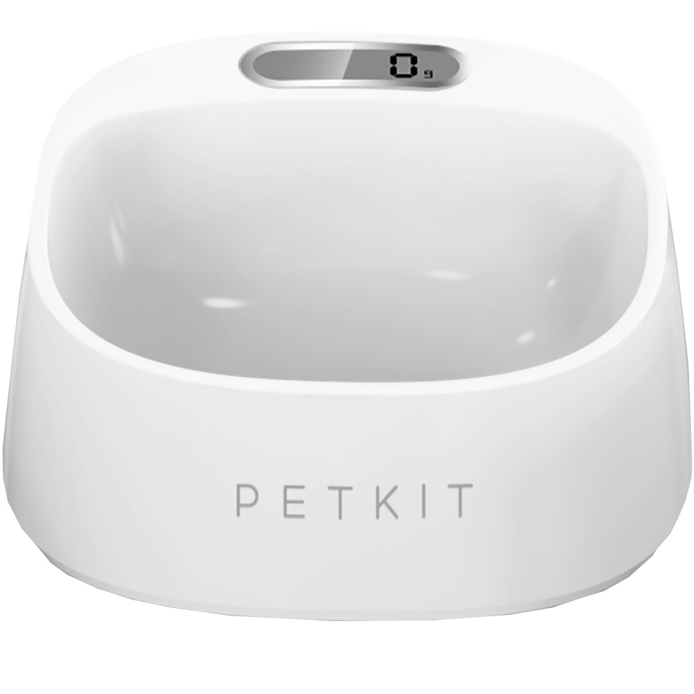 PETKIT FRESH Smart Digital Feeding Pet Bowl - White