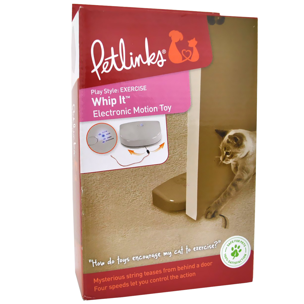 Petlinks Whip It Electronic Motion Toy