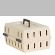 Petmate Cabin Kennel Solid Top upto 10lbs - Almond