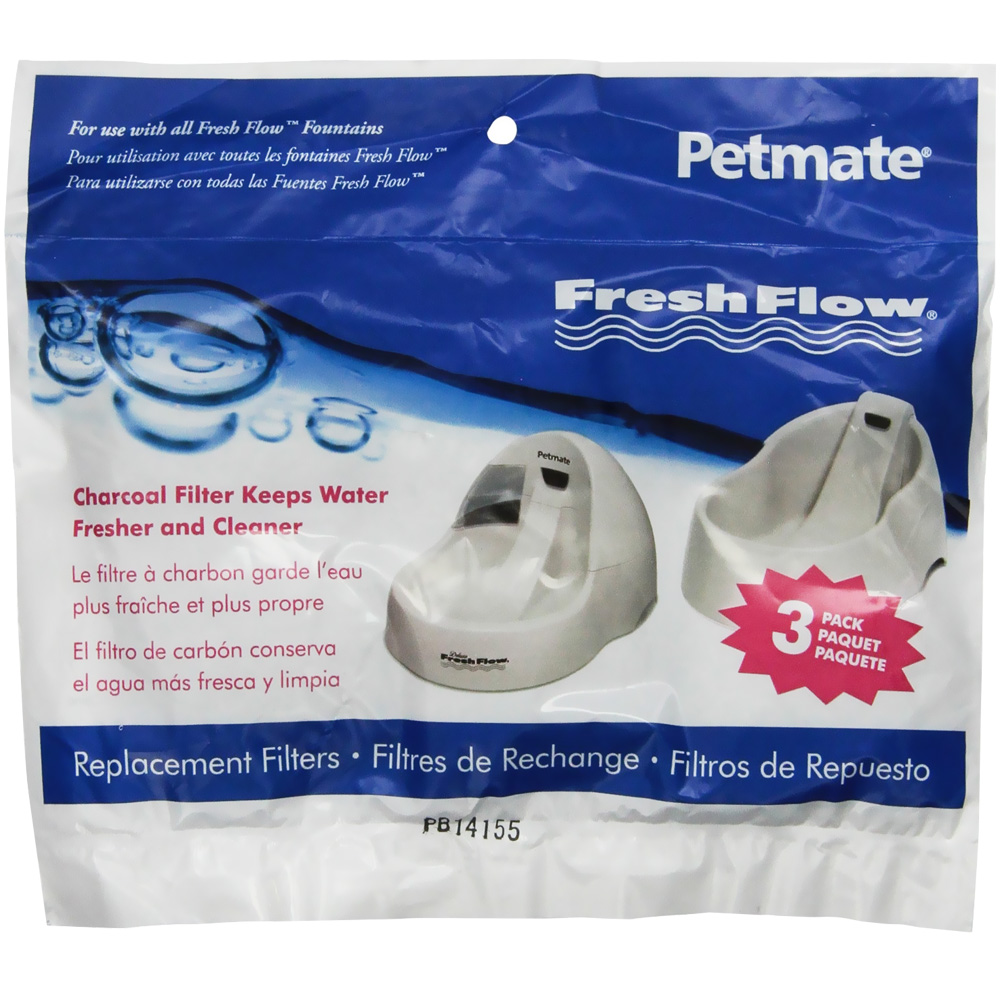 Petmate Fresh Flow Replacement Filter 3 Pack