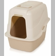 Petmate Hooded Pan Set with Microban Jumbo - Bleached Linen/Sand & Breeze