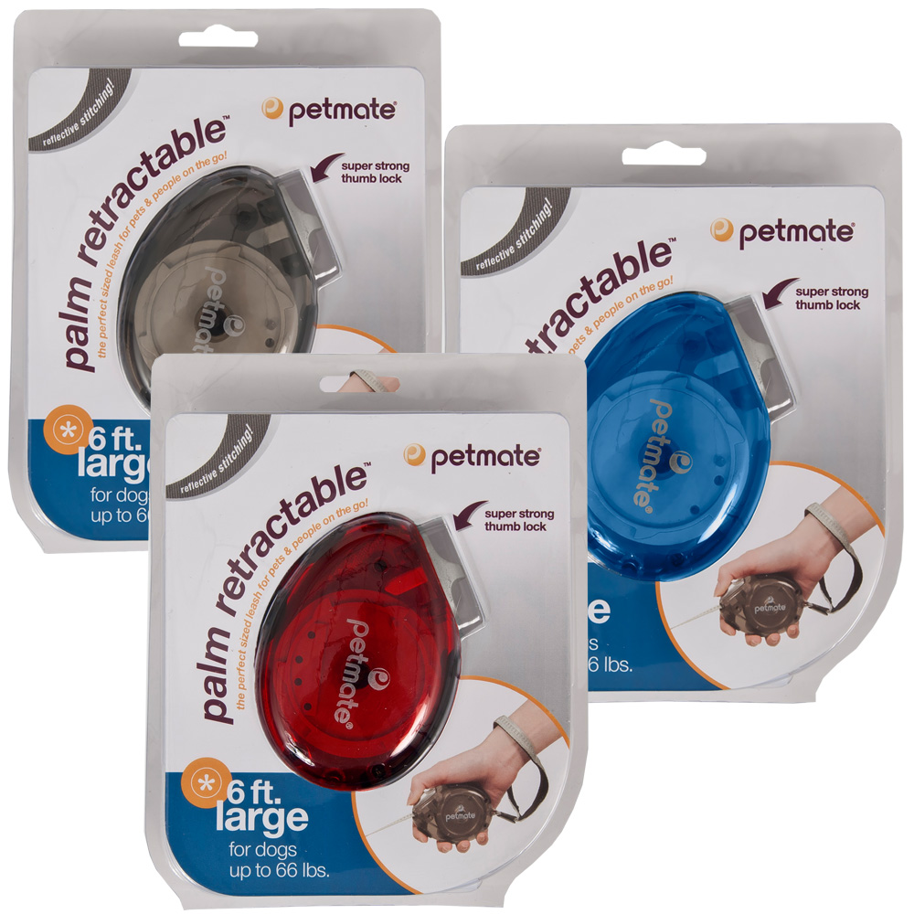 Petmate Palm Retractable Leash - Large (Assorted Colors)