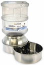Petmate Replendish Waterer Small - Stainless Steel (1 Gallon)