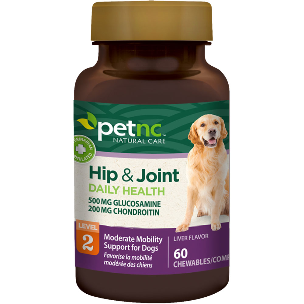 PetNC Natural Care Hip & Joint Daily Health Level 2 (60 count)