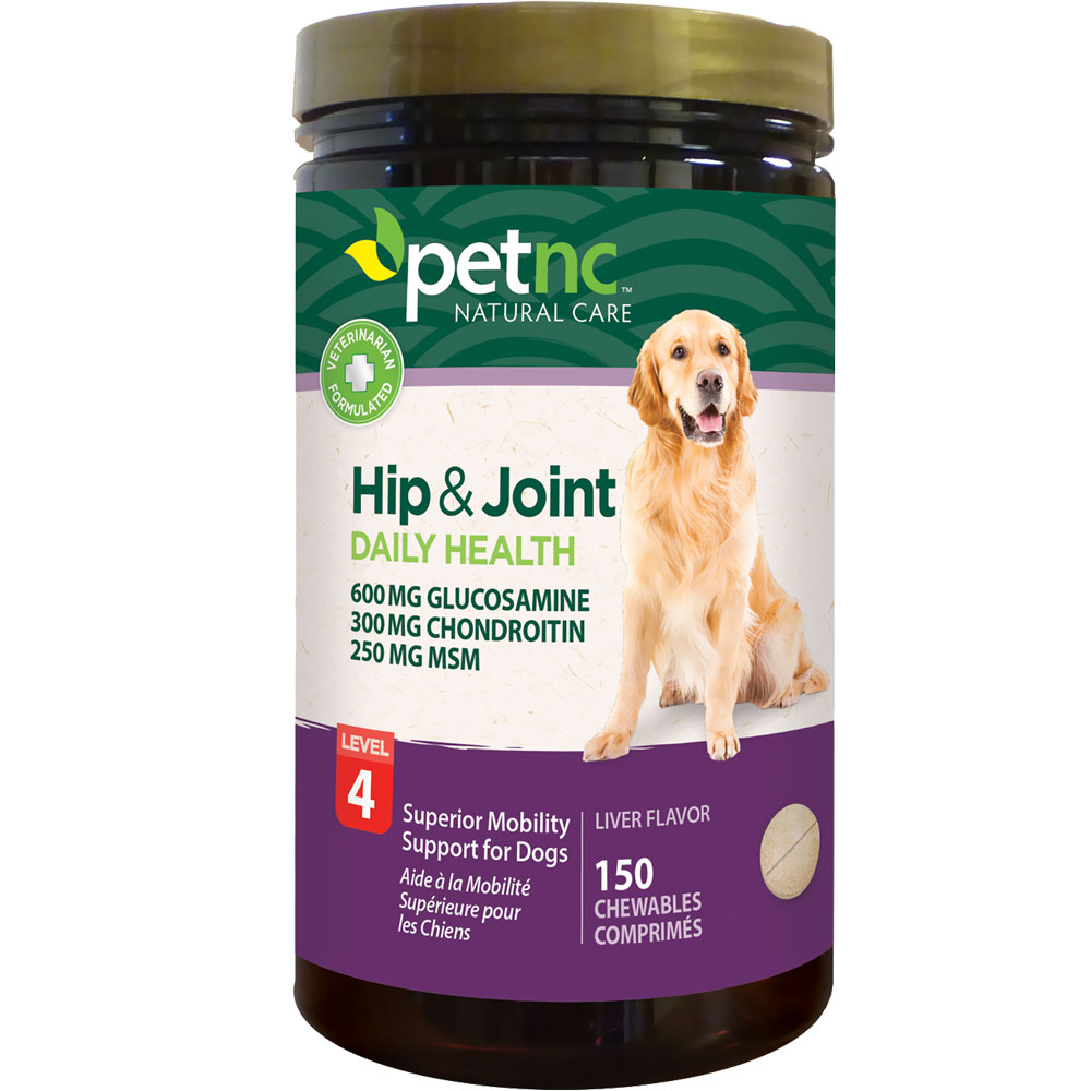 PetNC Natural Care Hip & Joint Daily Health Level 4 (150 count)
