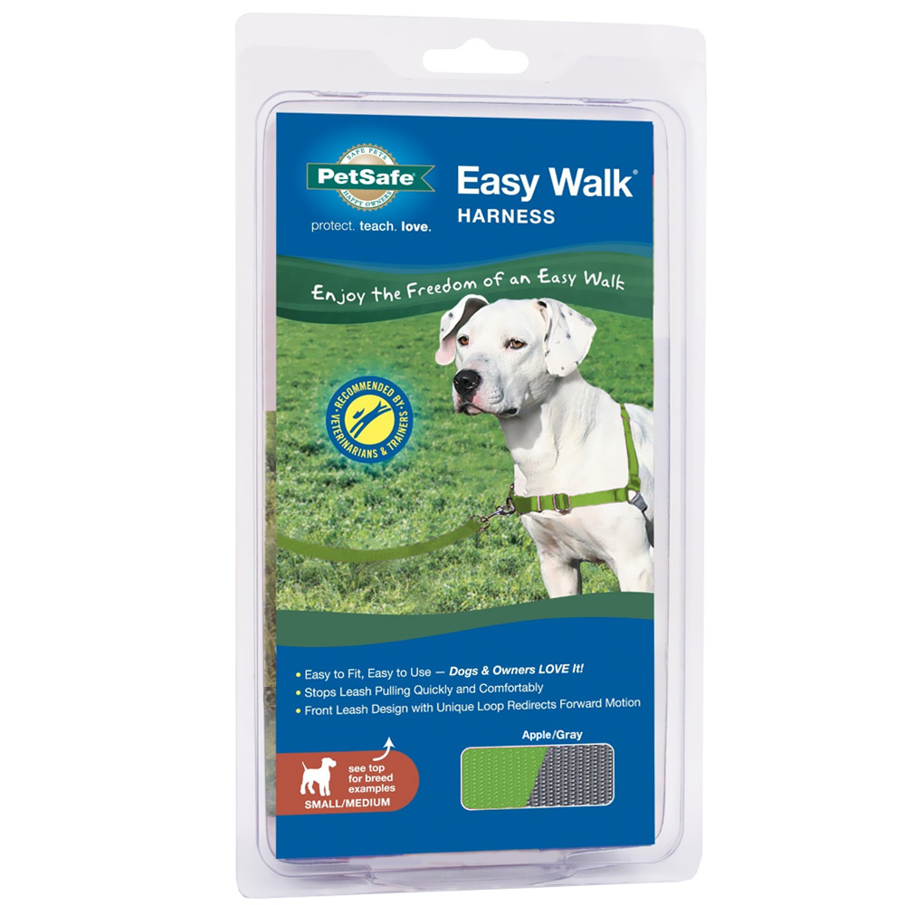 PetSafe Easy Walk Harness - Apple/Gray (Small/Medium)