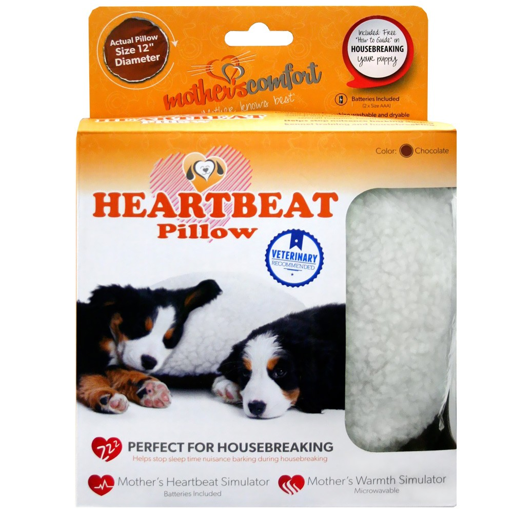 PetZu Mother's Comfort Heartbeat Pillow