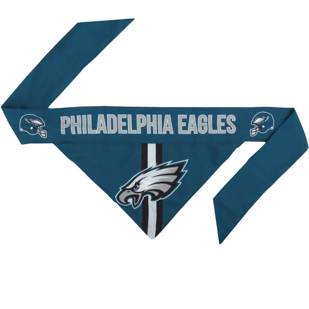 Philadelphia Eagles Dog Bandana - Tie On (Large)