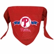 Philadelphia Phillies Dog Bandana - Large
