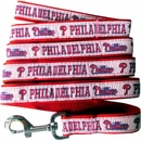 Philadelphia Phillies Dog Leash - Ribbon