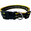 Pittsburgh Pirates Collar - Ribbon (Small)
