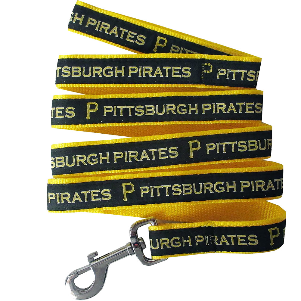 Pittsburgh Pirates Dog Leash - Ribbon