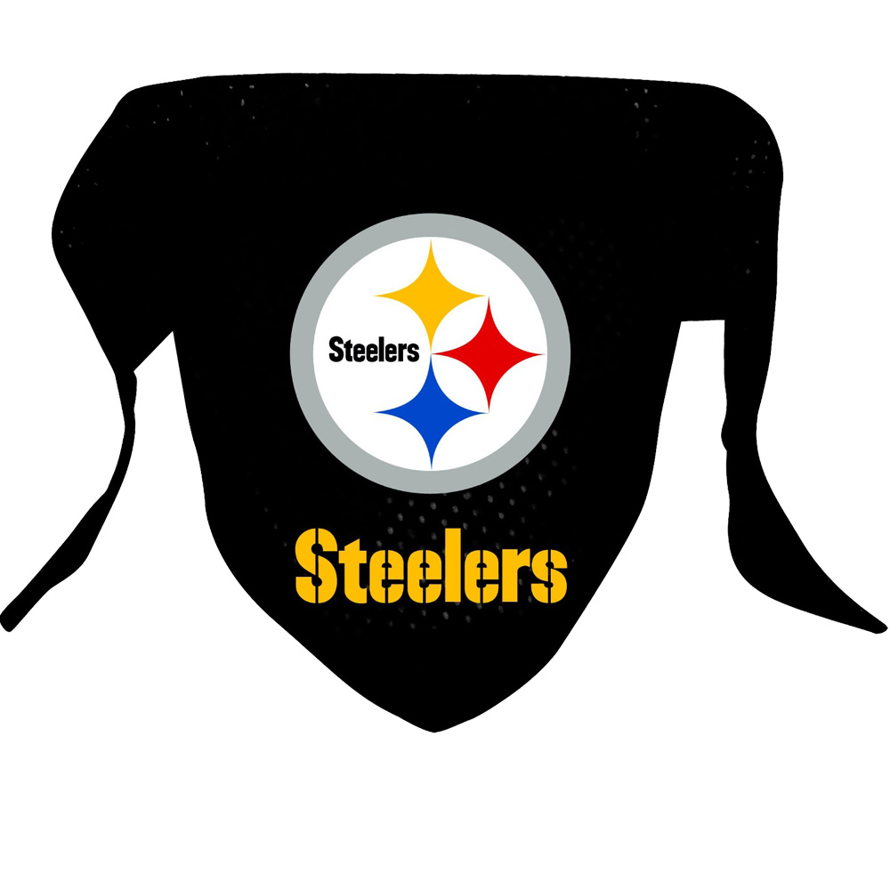 Pittsburgh Steelers Dog Bandanas