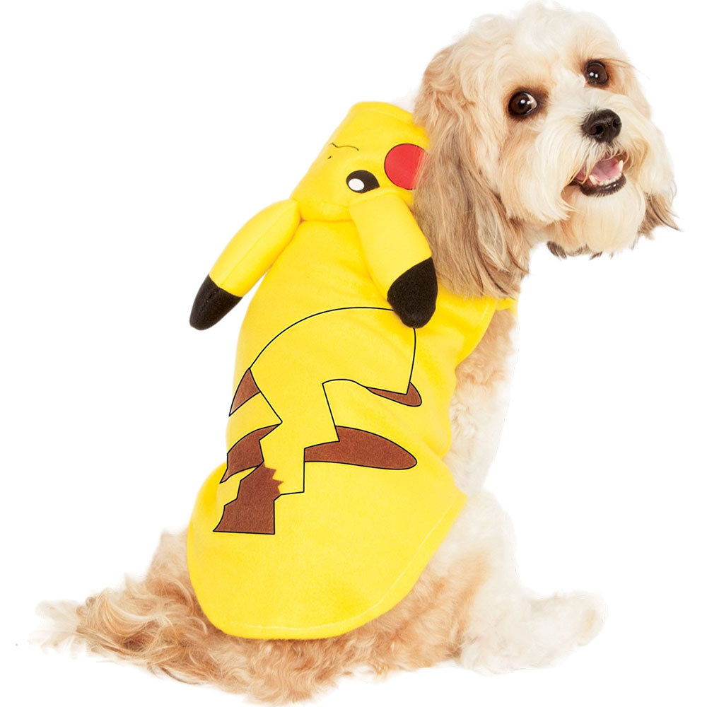 Pokemon Pikachu Hoodie Dog Costume - Small