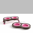Popware Pet Feeder (Small - Pink)