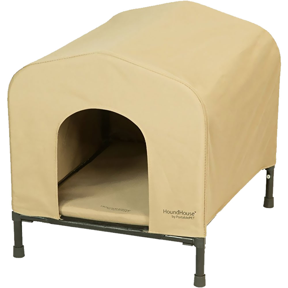 PortablePET HoundHouse Large - Khaki