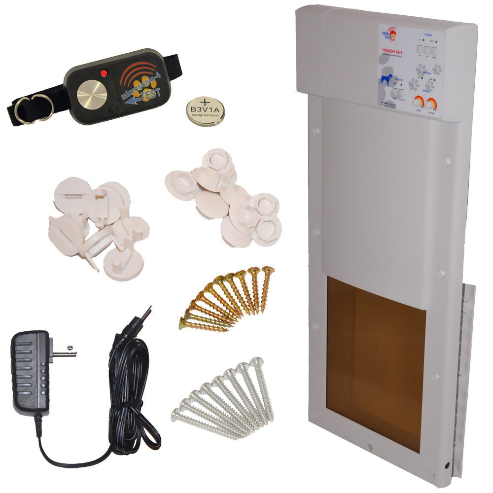 Power Pet Fully Automatic Pet Door Medium