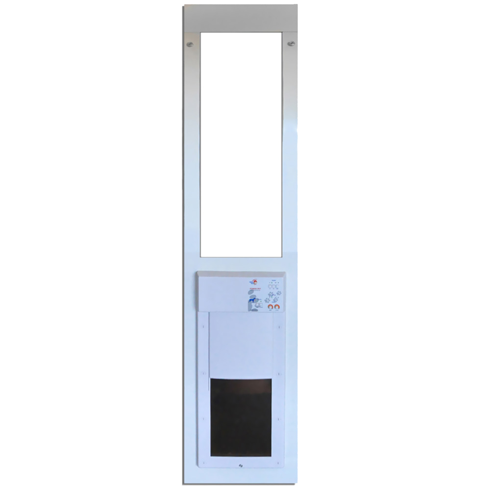 Power Pet Low-E Fully Automatic Patio Door - Large  (Extra Tall)