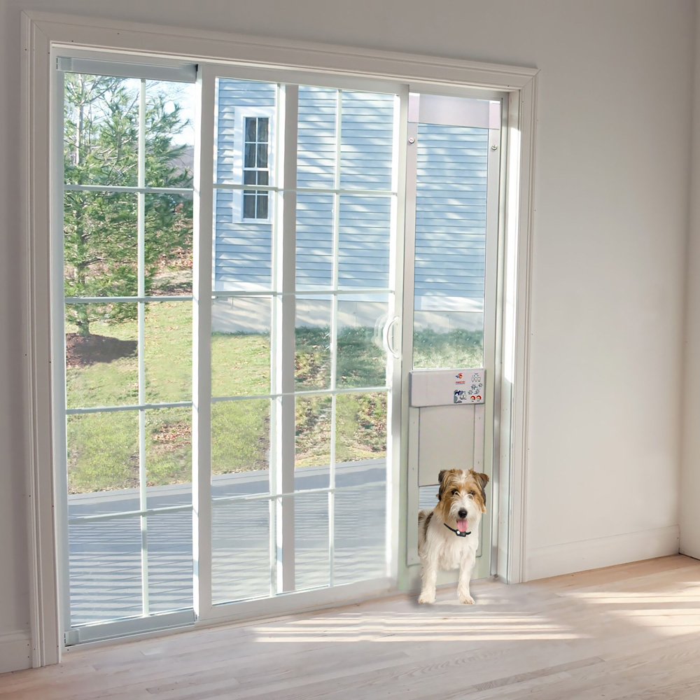 Power Pet Low E Fully Automatic Patio Door Large Extra Tall