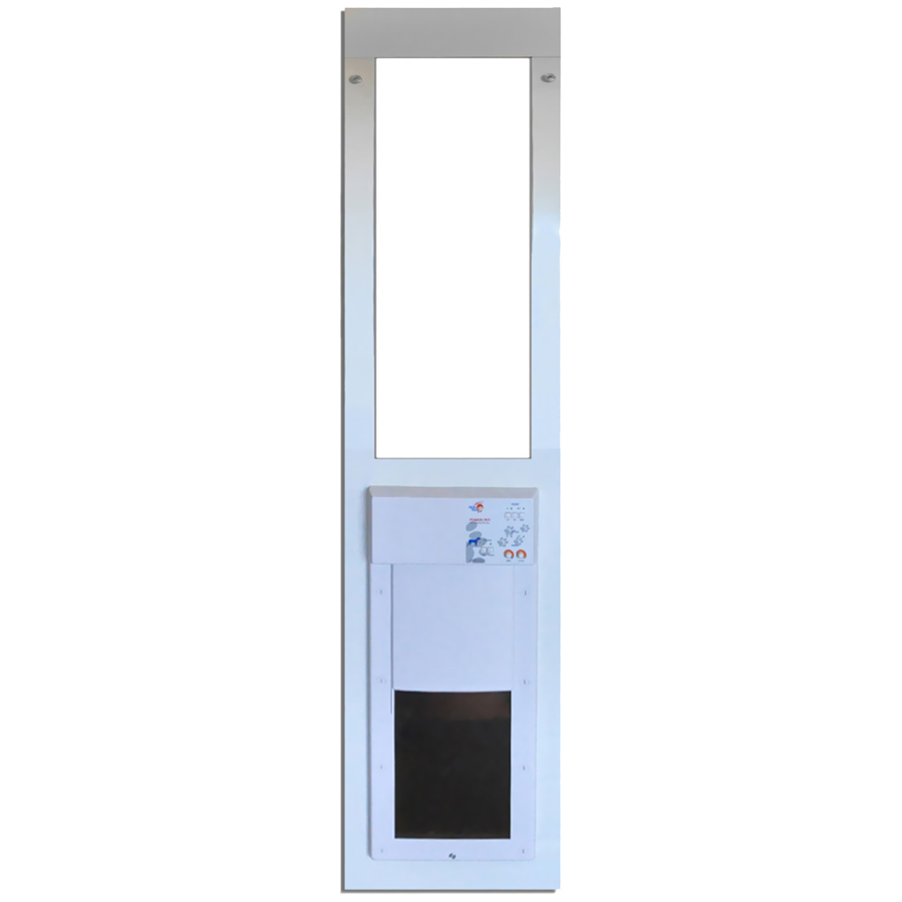 Power Pet Low-E Fully Automatic Patio Door - Large (Regular Height)