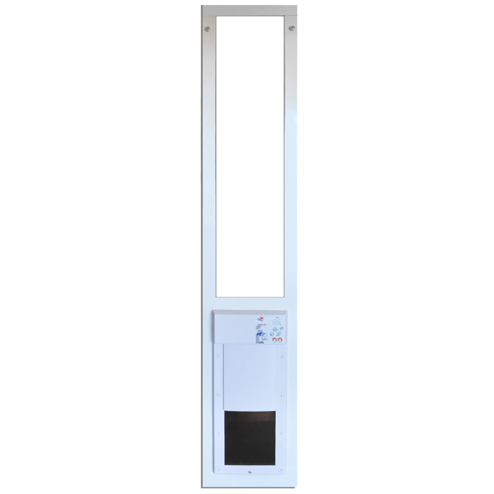 Power Pet Low-E Fully Automatic Patio Door - Medium (Extra Tall)
