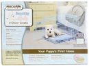 """Precision Blue SnooZZy Baby Crate 2000 24x18x19"""" - Two Door"""