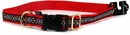 "Premier Quick Snap Collar - LARGE / RED (1"")"