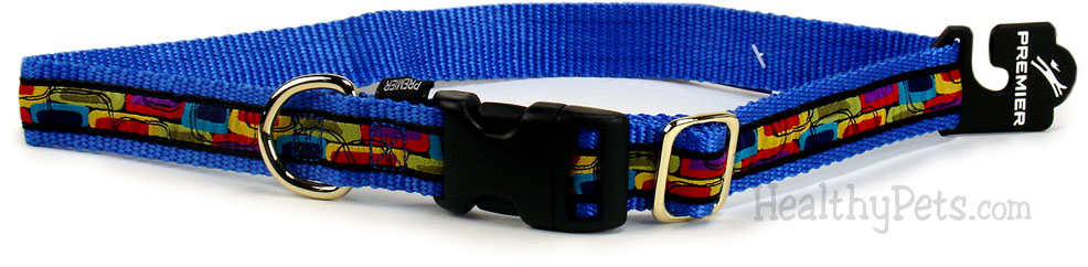 "Premier Quick Snap Collar - MEDIUM / BLUE (3/4"")"