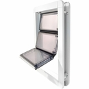 Premium Draft-Stopper Pet Door - Extra Large