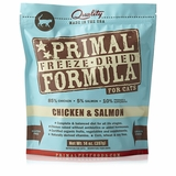 Primal Freeze Dried Chicken & Salmon Cat Food (14 oz)