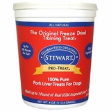 Pro-Treat Freeze Dried - Pork Liver Treats (4 oz)
