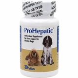 Prohepactic Liver Support Supplement for Medium Dogs (30 Tablets)