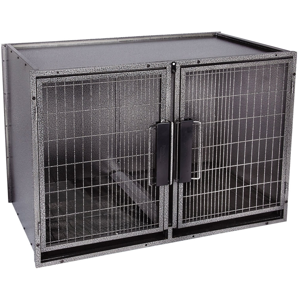 ProSelect Modular Kennel Cage - Gray (Large)