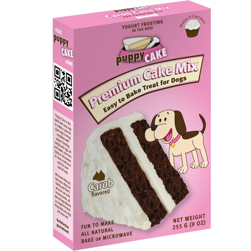 Puppy Cake - Carob Flavored Cake Mix