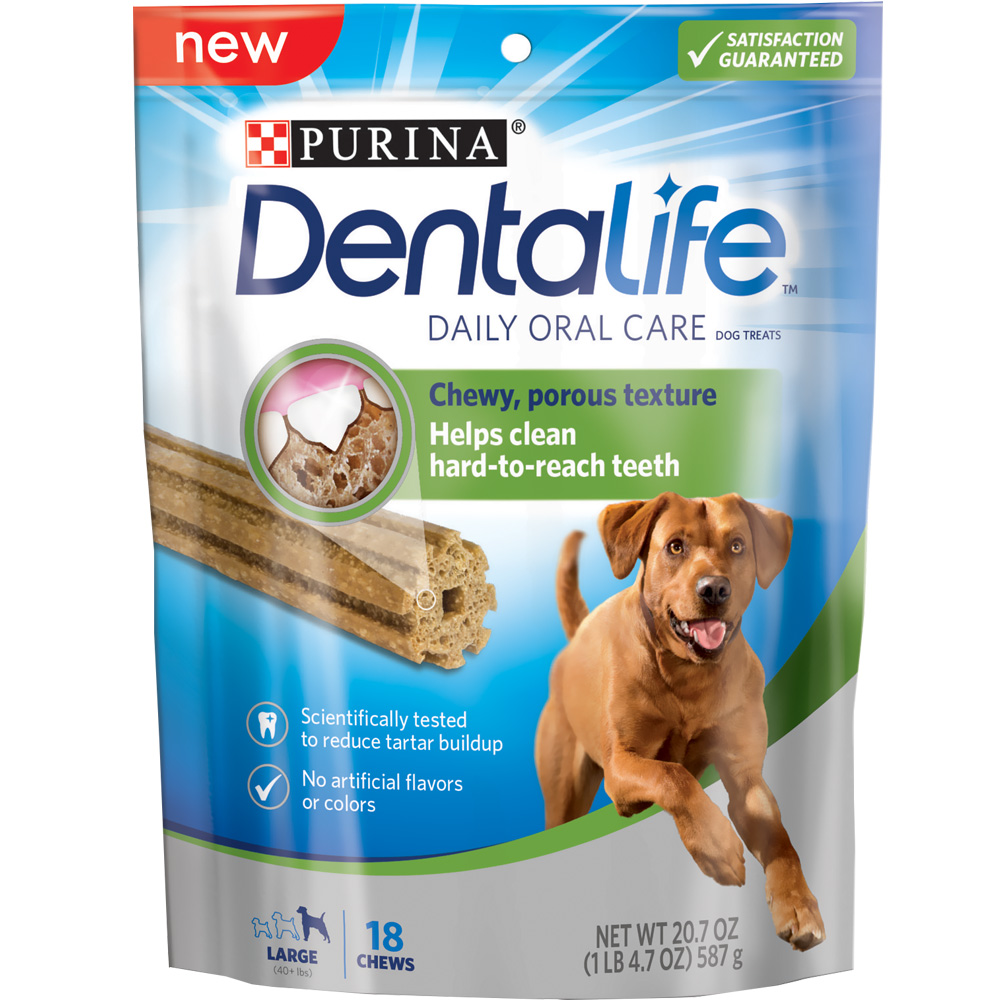 Purina Dentalife Oral Care Dog Treats - Large 20.7 oz (18 Chews)