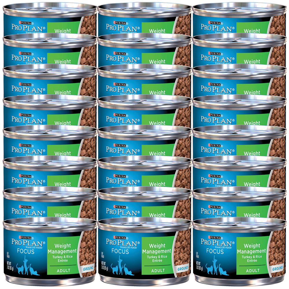 Purina Pro Plan Weight Management Canned Cat Food