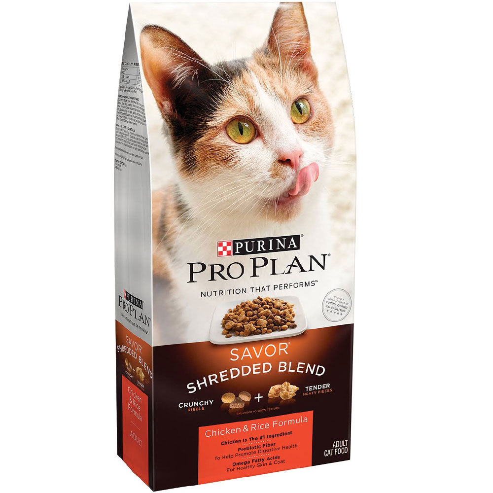 Purina Pro Plan Savor - Chicken & Rice Adult Cat Food (7 lb)