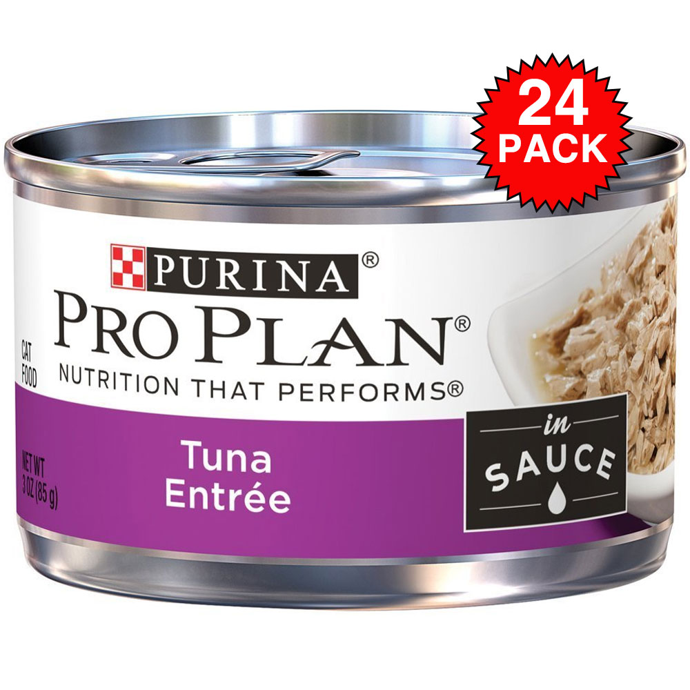 Purina Pro Plan Savor - Tuna Entrée In Sauce Canned Adult Cat Food (24x3 oz)