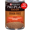 Purina Pro Plan Select - Chicken & Carrots Entrée Canned Adult Dog Food (12x13oz)