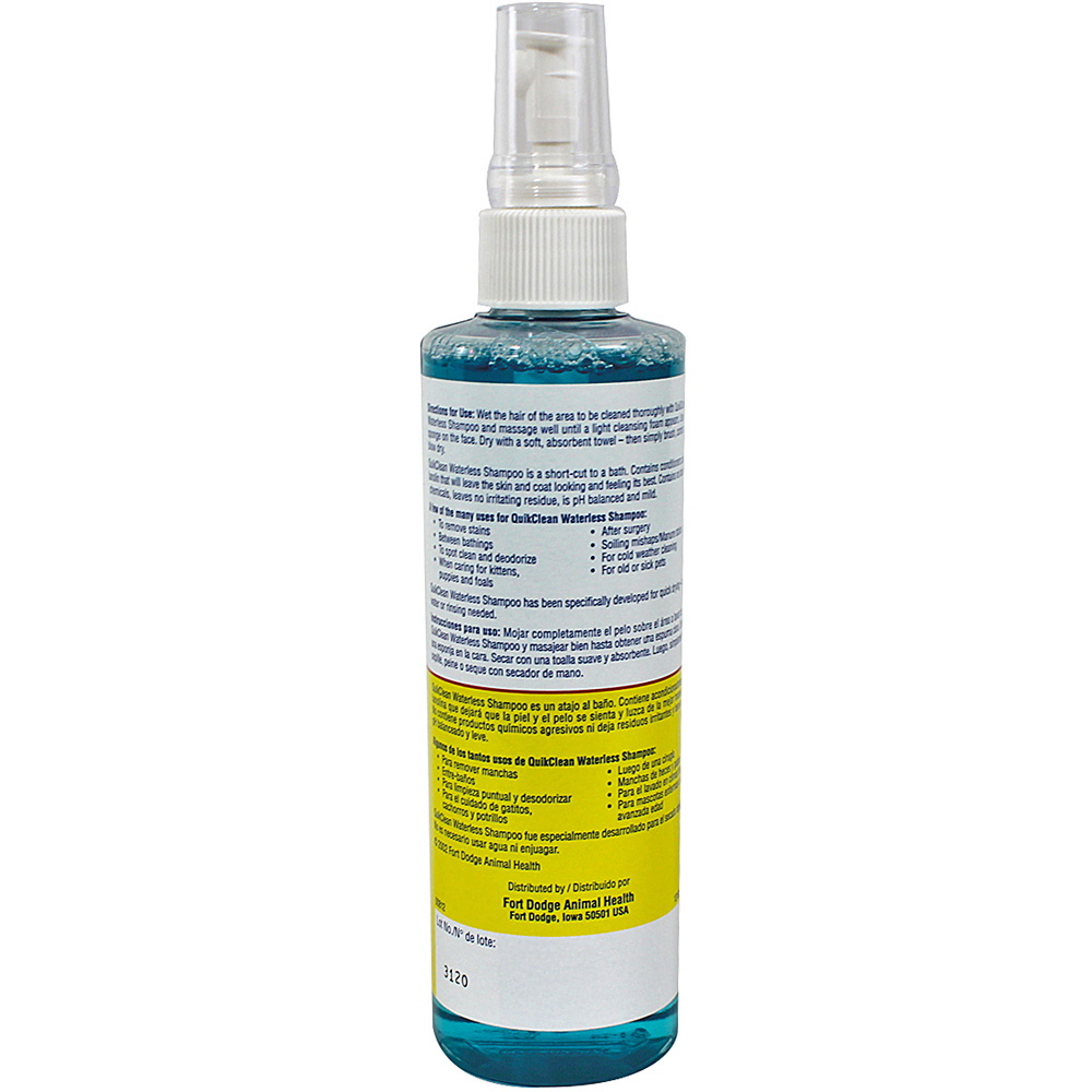QuikClean Waterless Shampoo (8 oz) by Fort Dodge