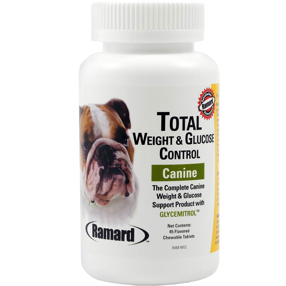 Ramard Total Weight & Glucose Control Canine (45 Chewable Tablets)
