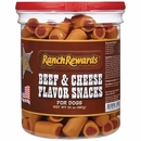 Ranch Rewards Snacks - Beef & Cheese Flavor (24 oz)