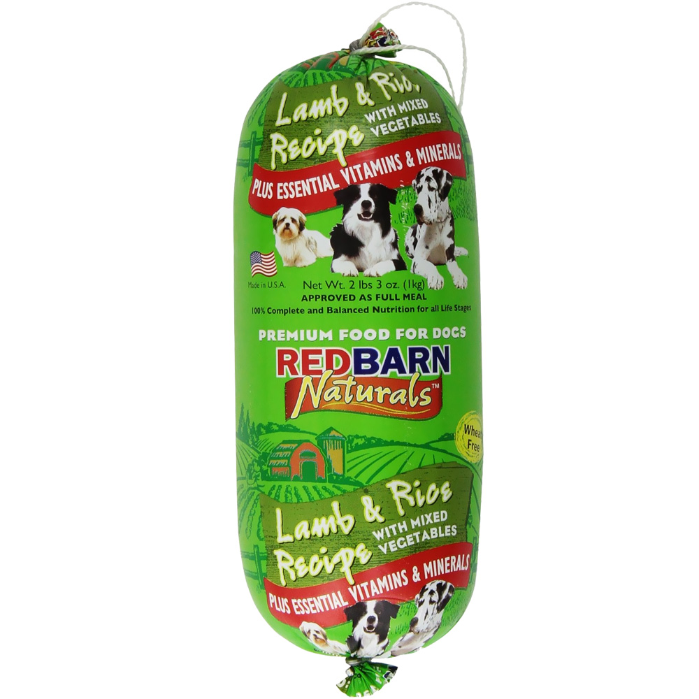 Redbarn Lamb and Rice Rolled Food (2.3 lbs)