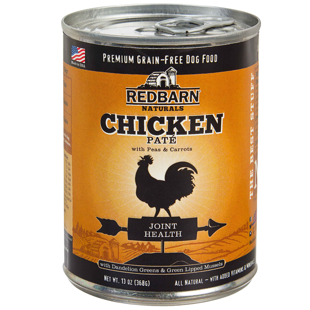 Redbarn Pate Joint Health Dog Food - Chicken (13 oz)