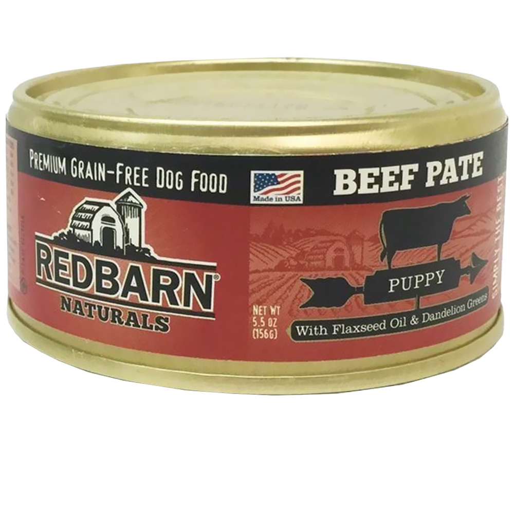 Redbarn Pate Puppy Dog Food - Beef (5.5 oz)