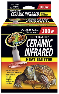 Repticare Infrared Ceramic Heat Emitter (100 watt)