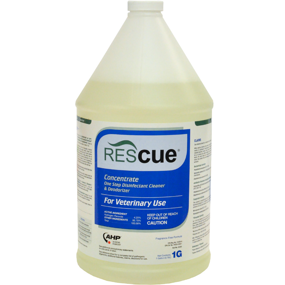 Rescue Disinfectant Concentrate (Gallon)