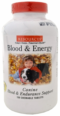 RESOURCES  Canine Blood & Endurance (120 Tablets)