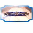 Rhinestone Dog Collars - Silver Bells (Small)