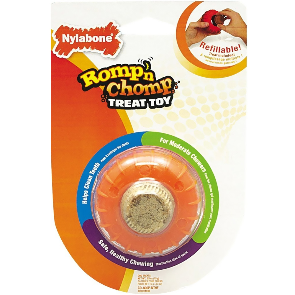 Romp N Chomp Roller Treat Toy - Small